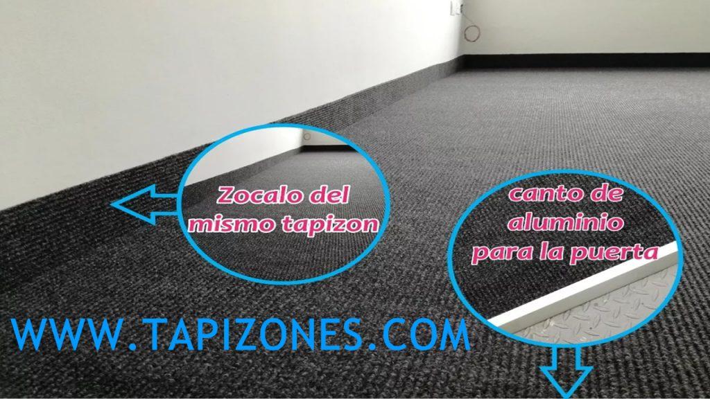 TAPIZONES CON ZOCALO